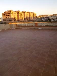 Reforma integral en terraza